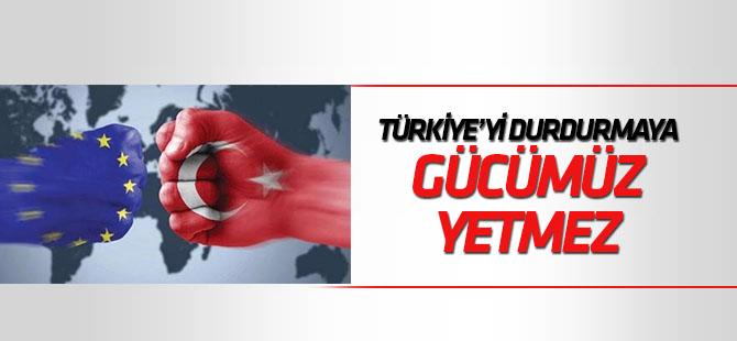 """Lüksemburglu Bakan: """"Türkiye'yi durdurmaya gücümüz yetmez"""""""