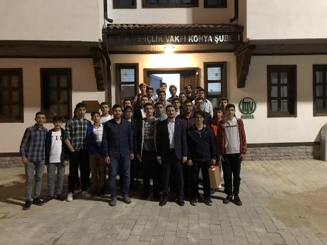 Fatih Gençlik Vakfı Konya Şubesi'nde Tarih Okumaları