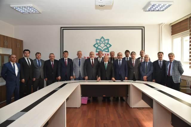 MEB Ortaöğretim Genel Müdürü Yusuf Büyük Konya'da