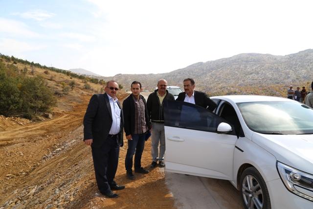 Başkan Hadimioğlu ilçede yapımı süren kamu yatırımlarını inceledi