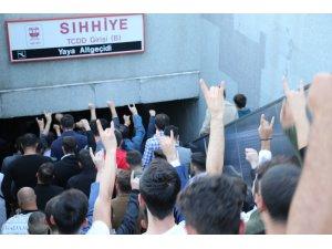 Barış Pınarı Harekatı'na Ülkücü öğrencilerden destek yürüyüşü