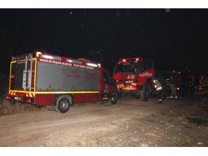 Mersin'de orman yangınına Konya'dan takviye