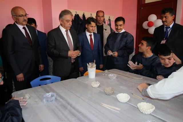 Konya Valisi Cüneyit Orhan Toprak Seydişehir'de