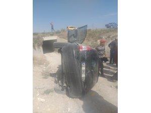 Konya'da trafik kazası: 1 yaralı