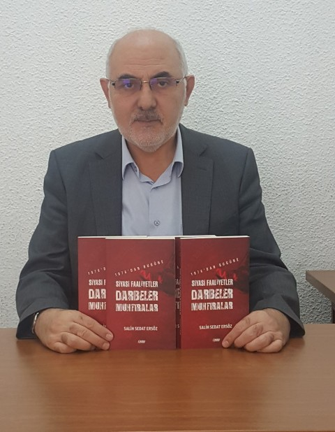 Salih Sedat Ersöz'ün 5. Kitabı çıktı