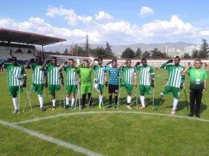 Konya Engelliler Gücü Ampute Futbol Türkiye Kupası'na mağlubiyetle başladı