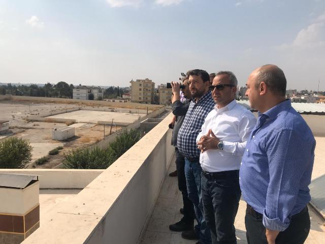 Medya-İş Sendikasından sınır hattına ziyaret