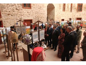 """Tokat'ta """"Bir Zamanlar Selçuklu"""" sergisi açıldı"""