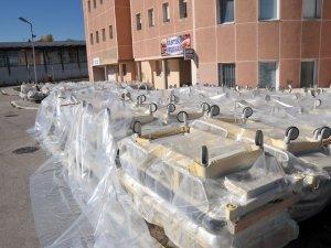 Konya'dan Sırbistan'a sağlık alanında destek