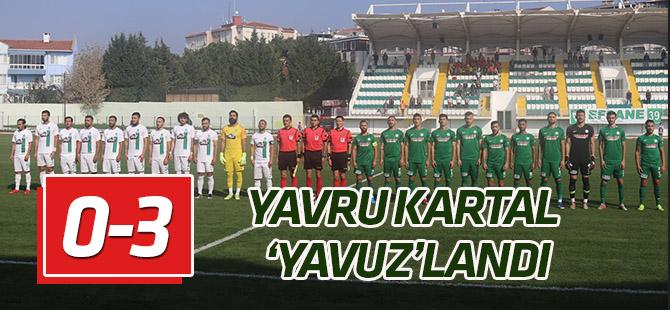 1922 Konyaspor deplasmanda kazandı