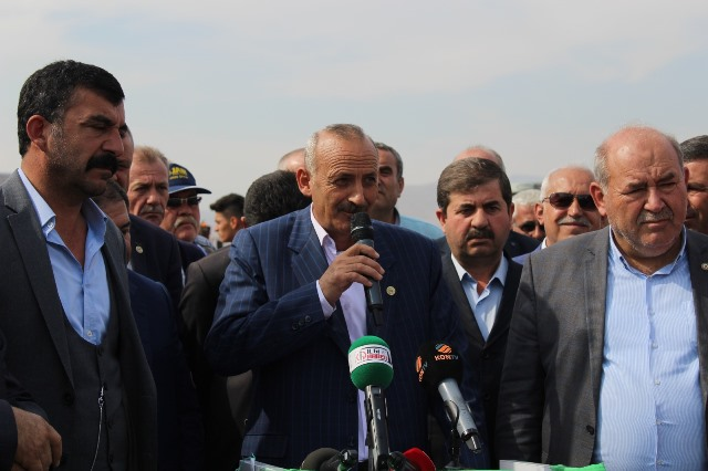 Çiftçilerden Mehmetçiğe destek