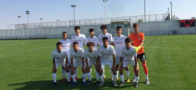 Konyaspor U 17 farklı galip