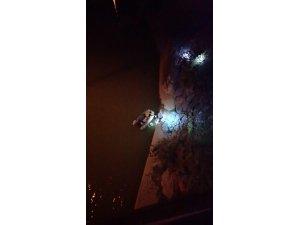 Balık tutarken Çoruh Nehrine düşen şahıs kurtarıldı