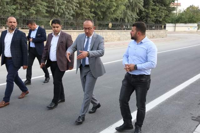 Meram'da Yorgancı Caddesi asfalt çalışmaları da tamamlandı