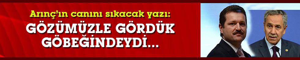 Ahmet Hakan'dan Arınç'ın damadının tahliyesine tepki