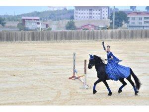 Atlı Spor Tesislerinde 'gurur' günü