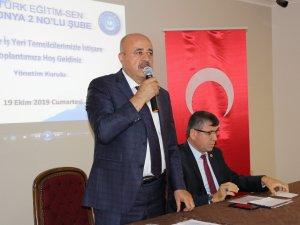 Aktaş: Türkiye sevdalısı bir sendikayız