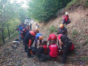 Uludağ'da korkunç ölüm, ekipler seferber oldu