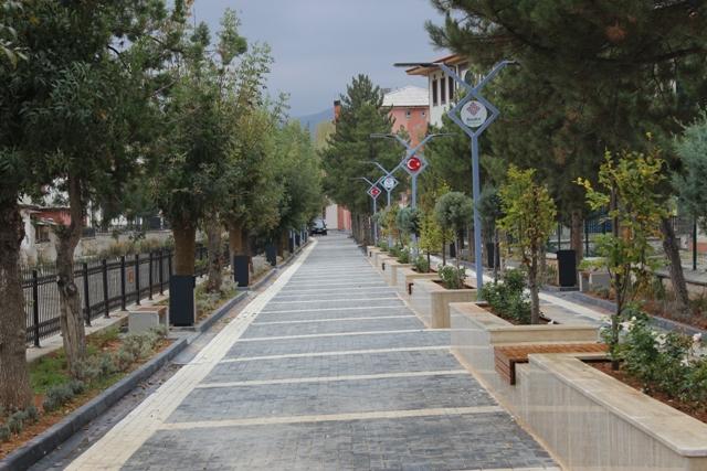 Bozkır'a yeni yürüyüş yolu yapıldı