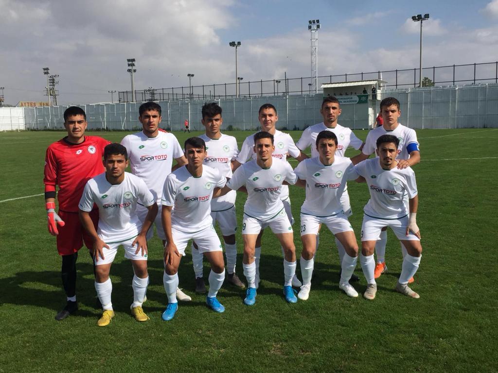 Konyaspor U19 Malatya'yı 2 golle geçti