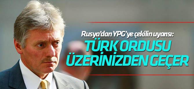 Rusya YPG/PKK'yı çekilme konusunda uyardı