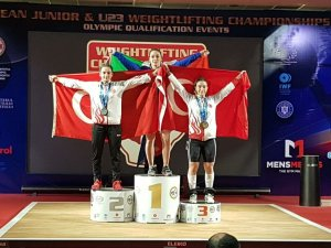 Nuray Levent Avrupa ikincisi oldu