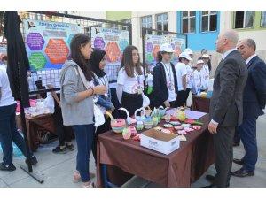 Sarayköy'de 30 proje ile 'TÜBİTAK 4006 Bilim Fuarı' açıldı