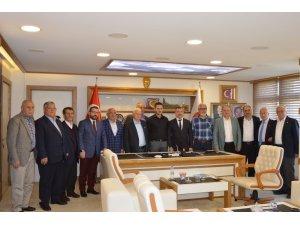 AK Parti kurucu ilçe başkanları Havza'da