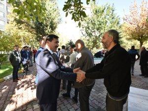 Başkan Kılca vatandaşlarla buluştu