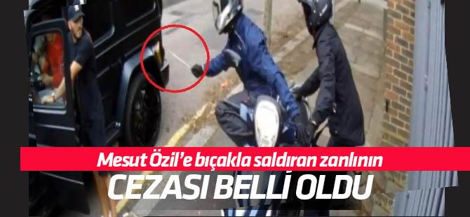 Mesut Özil'e saldırı olayında karar açıklandı