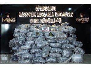 Terörün finans kaynağına büyük darbe, kullanıma hazır 489 kilogram esrar ele geçirildi