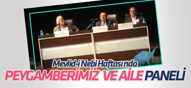 """Konya'da """"Peygamberimiz ve Aile"""" paneli düzenlendi"""