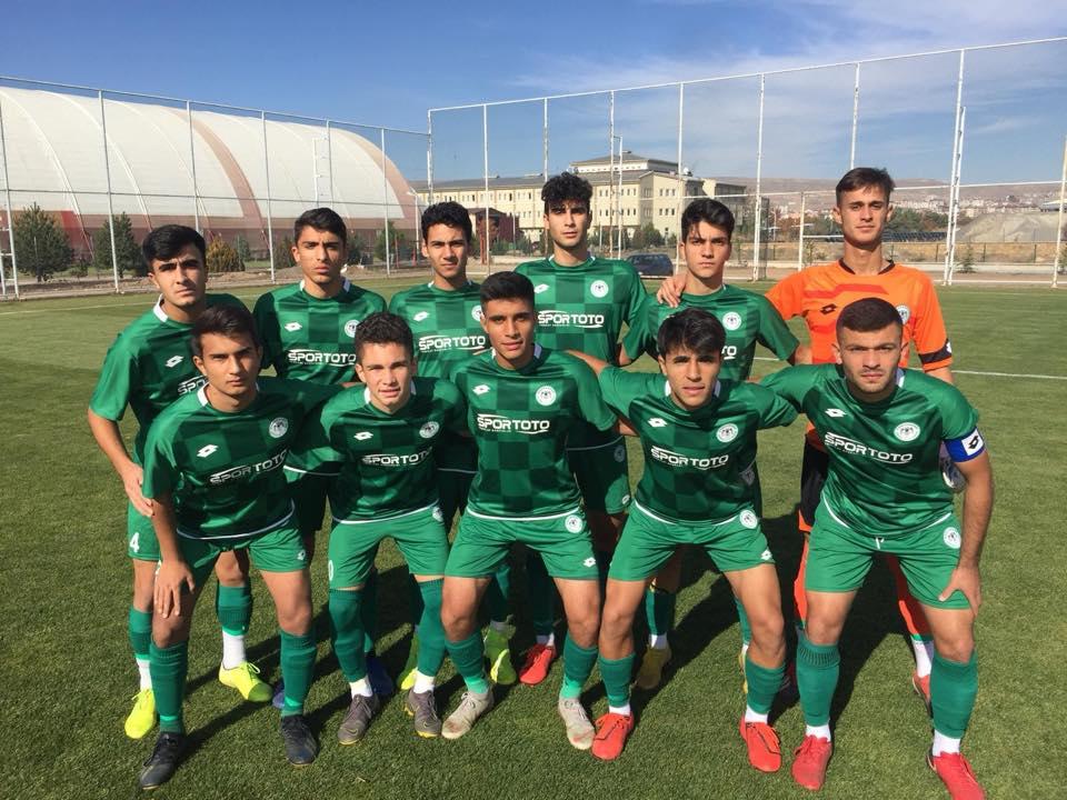Sivasspor U17:0-Konyaspor U17:1
