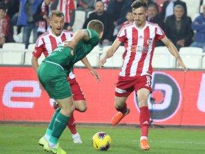 Süper Lig: Sivasspor: 0 - Konyaspor: 0 (İlk yarı)