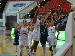 Kadınlar Basketbol Süper Ligi: Kayseri Basketbol: 77 - Hatay Büyükşehir: 59