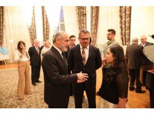 """Topçu: """"Karabağ'a selam iletiyorum"""""""