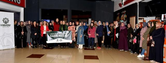 Karatay Belediyesi'nden sinema etkinliği