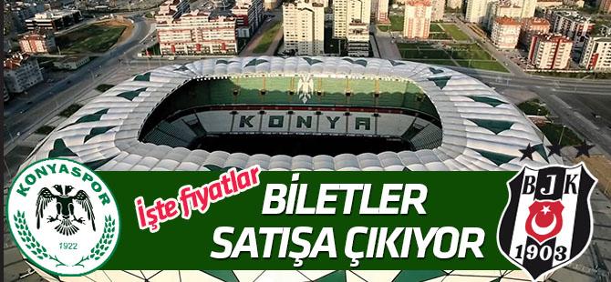 """İH Konyaspor-Beşiktaş maçı biletleri """"Çarşamba"""" satışa çıkıyor"""