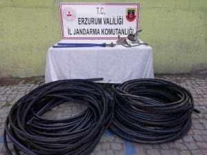 Trafo ve kablo hırsızları suçüstü yakalandı