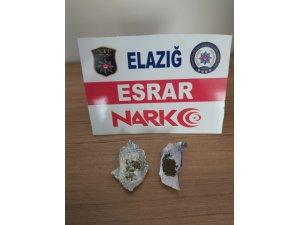 Elazığ'da uyuşturucu operasyonları: 4 tutuklama