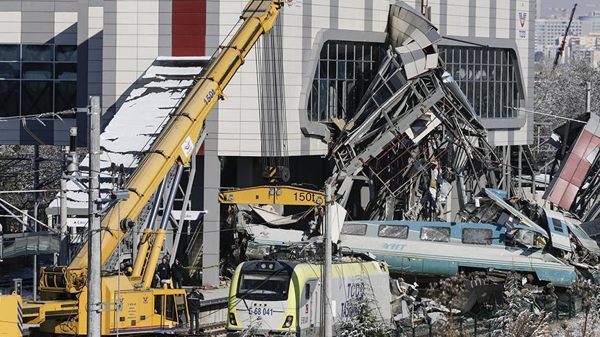 Ankara'da 9 kişinin ölümüyle sonuçlanan YHT kazası davası 13 Ocak'ta görülecek