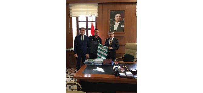 Konyaspor Basketbol'dan Akgün'e ziyaret