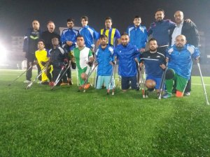 Büyükşehir Ampute takımında TSK maçı hazırlıkları sürüyor