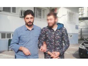 İnşaattan malzeme çalan şüpheli tutuklandı
