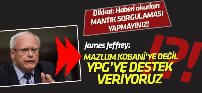 Jeffrey'den 'Mazlum Kobani' yorumu: Biz kişilere değil SDG güçlerine (YPG/PKK) destek vermekteyiz