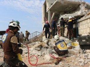 Rus uçakları ve Esad rejiminden İdlib'e saldırı