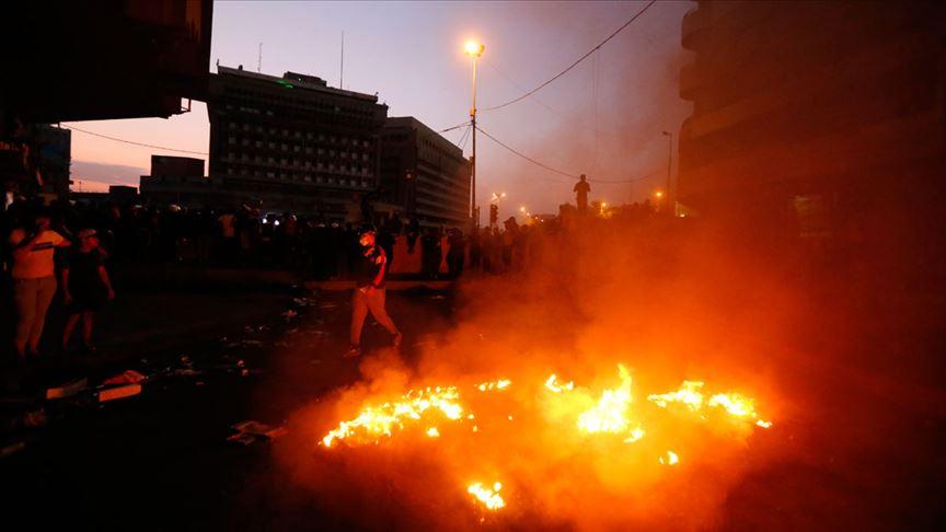 Bağdat'ta Tahrir Meydanı'nda patlama meydana geldi