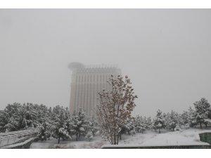 Tahran'da mevsimin ilk kar yağışı yaşamı olumsuz etkiledi
