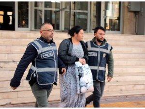 25 yıl hapis cezası bulunan kadın yakalandı