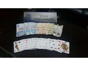 Kahramanmaraş'ta kumar operasyonu